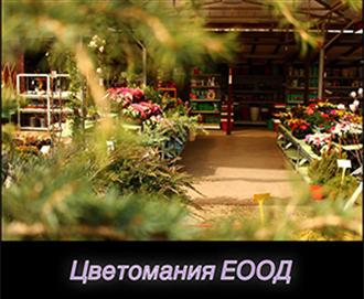 Градински център - Цветомания ЕООД в София