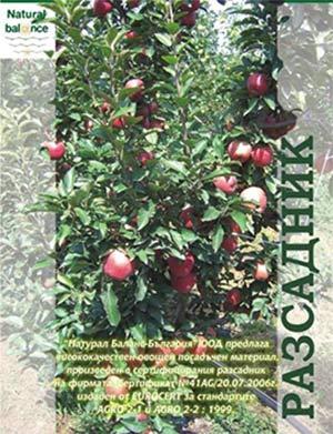 Натурал Баланс - разсадник за овощни дръвчета