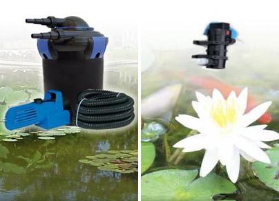 Филтър за фонтани и езера