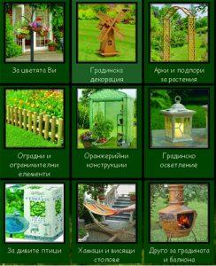 СТЕРАДО - продукти за градината