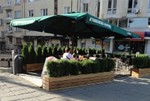 Озеленен обект Starbucks