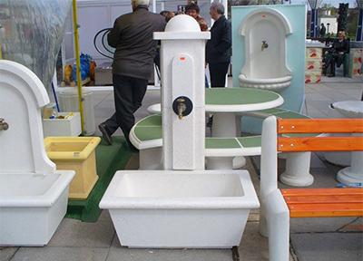 декоративни изделия от бетон за паркове и градини
