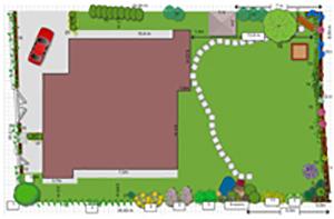 Проектиране на градина