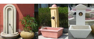 декоративни изделия от бетон за обзавеждане на паркове и градини