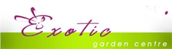 лого на градински център Екзотик