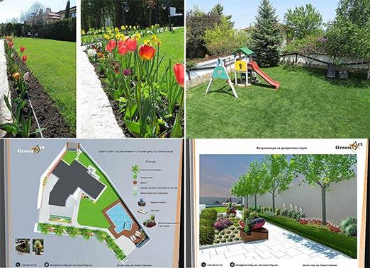 Вертикални зелени стени и интериорни зелени решения