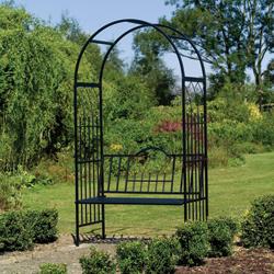 Метална градинска арка