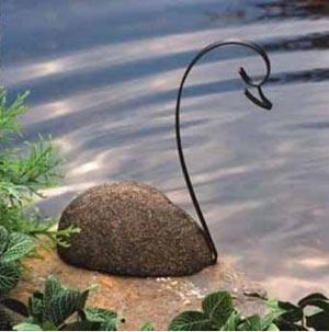 Идеи за вилата, лебед от камъни