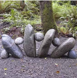 декорация от камъни