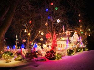 Коледна градина