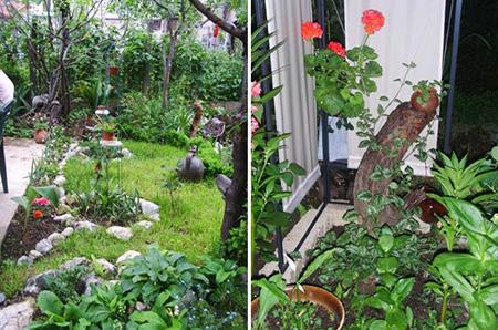 малка красива градина
