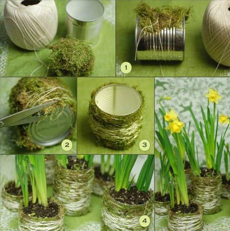 саксии за цветя, които можете да изработите сами