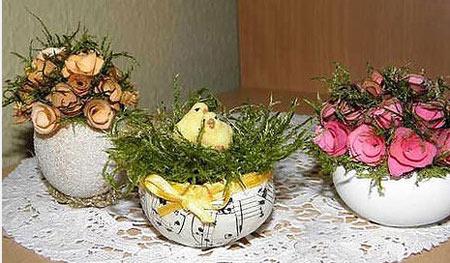 щраусови яйца на Великденската маса