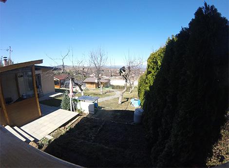 Рязане и кастрене на дървета в двора